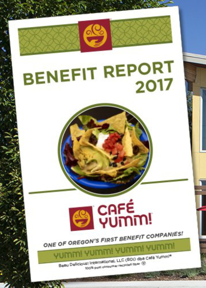 Sustainability Stories: Benefit Report