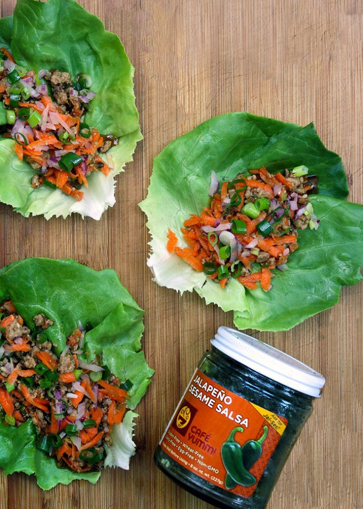 Yumm! Recipe: Spicy Lettuce Wraps