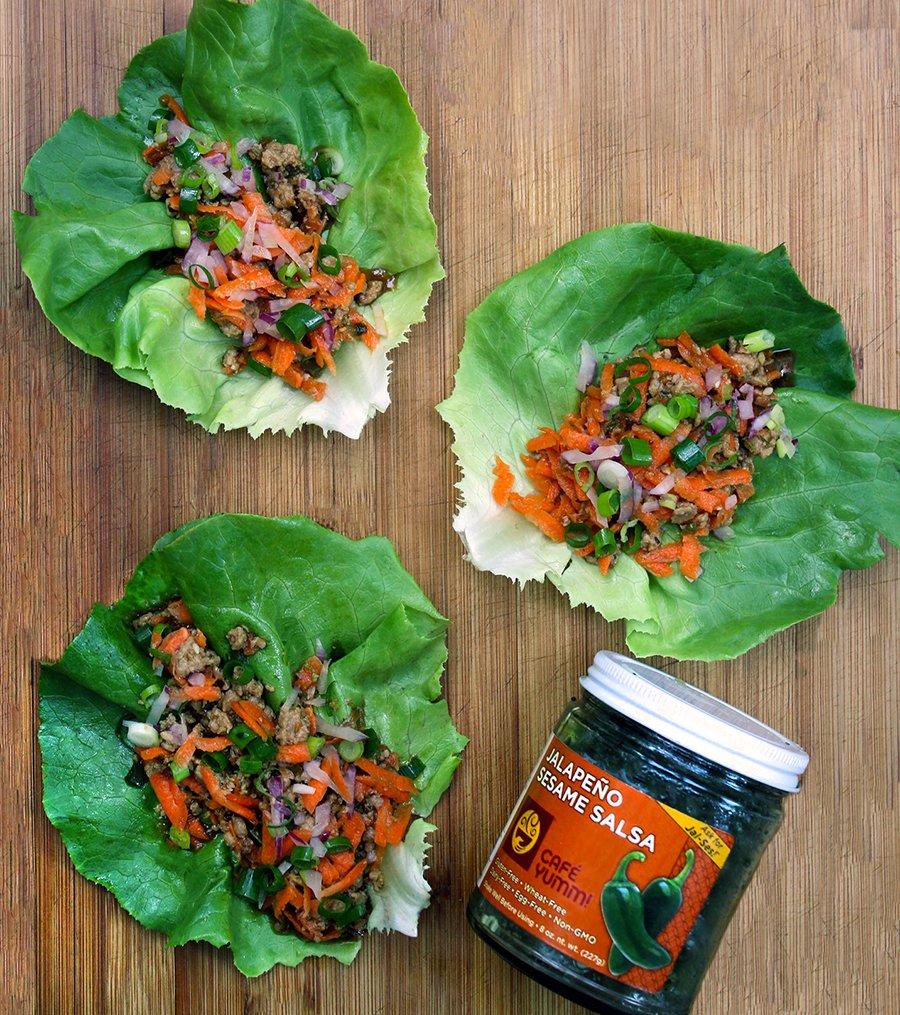 Yumm! Recipe: Spicy Lettuce Wraps