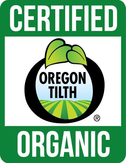 Coffee Recertified by Oregon Tilth