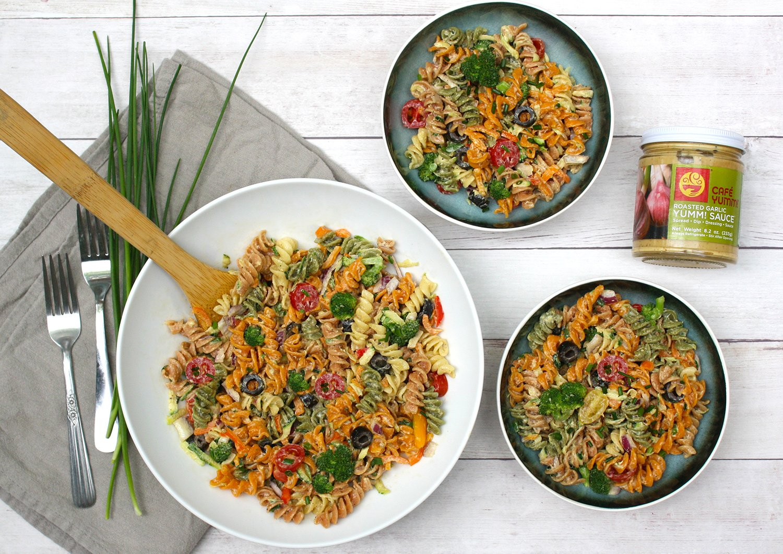 Yumm! Recipe: Garlicky Pasta Salad