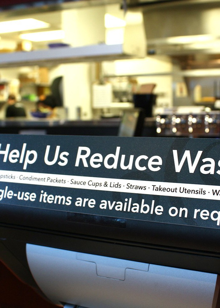 Thanks for Helping Reduce Waste!