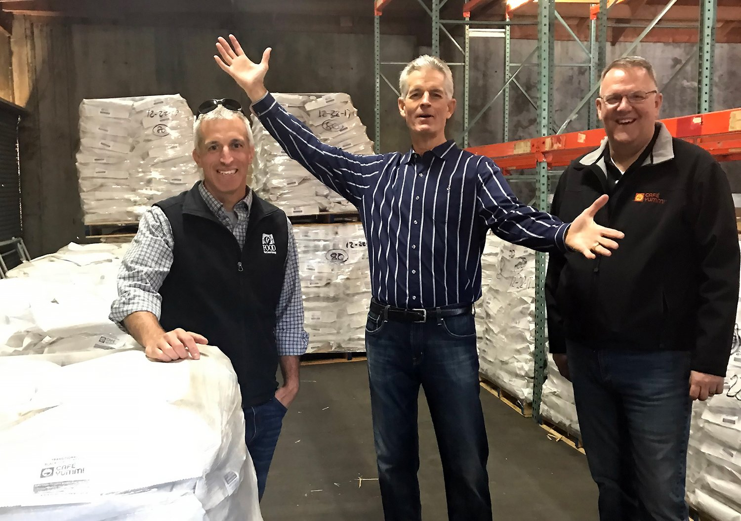 95,000 lbs of Black Beans Donated!