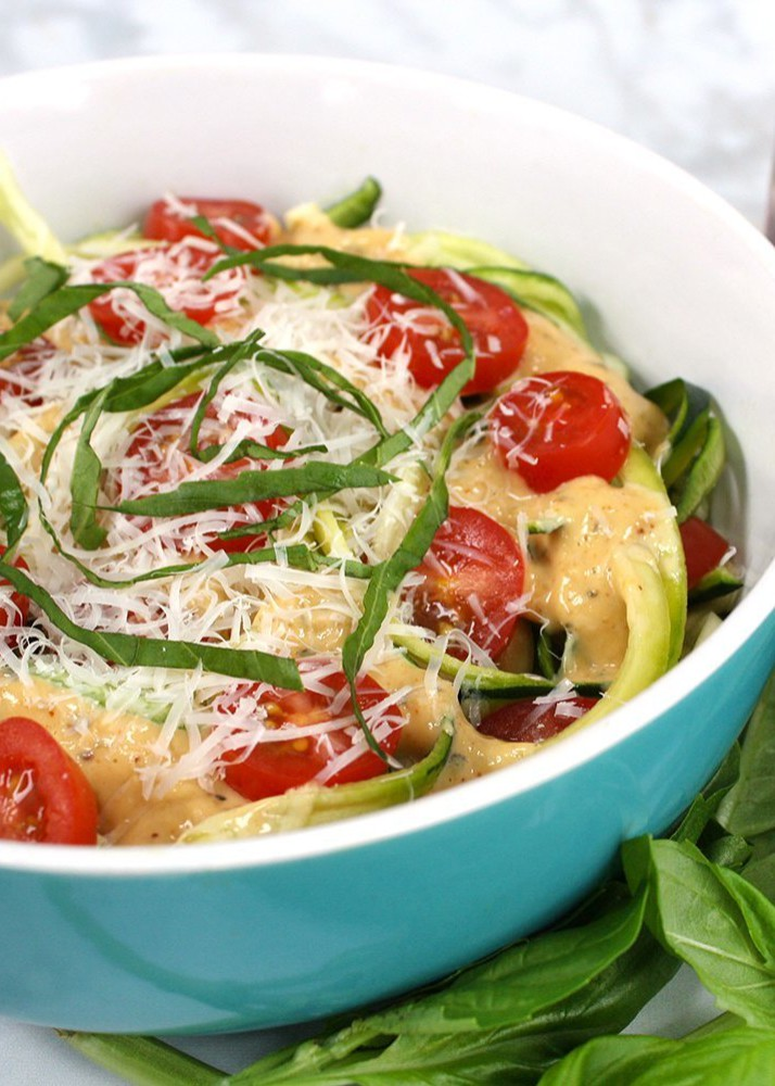 Yumm! Recipe: Roasted Garlic Zoodles