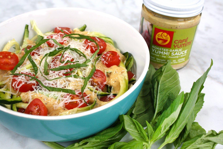 Yumm! Recipe: Garlic Zoodles