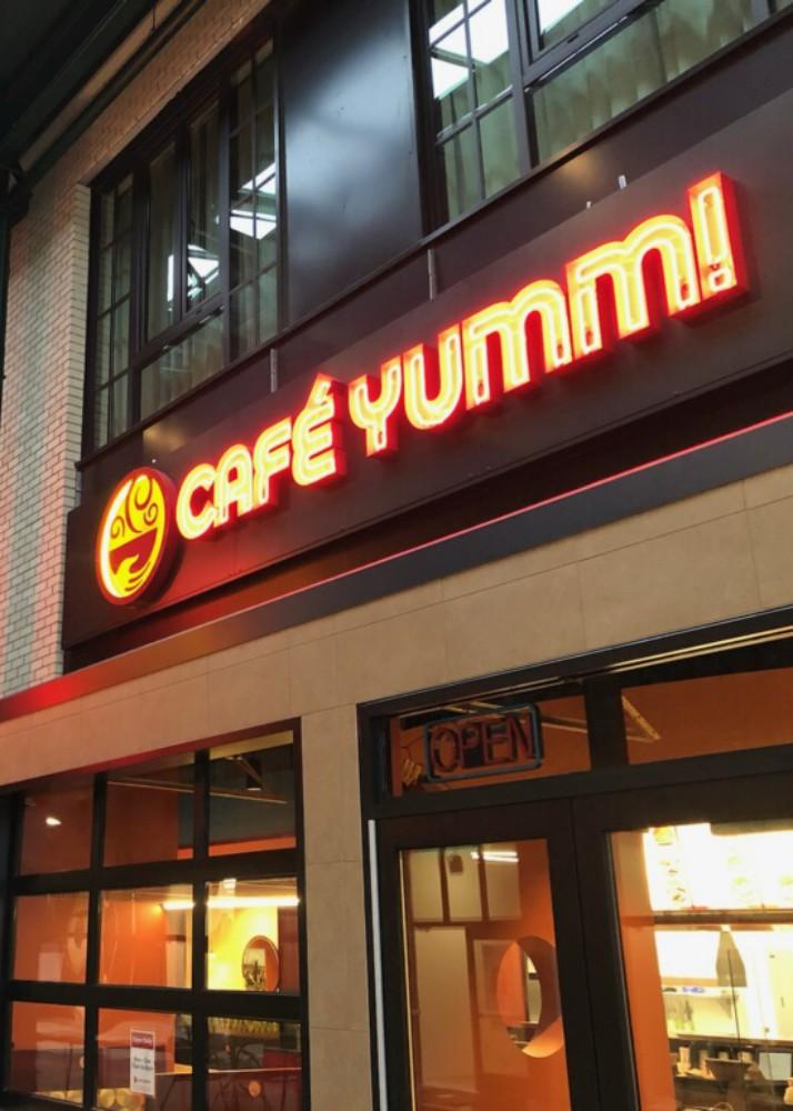 Now Open! Café Yumm! at 5th Street Market