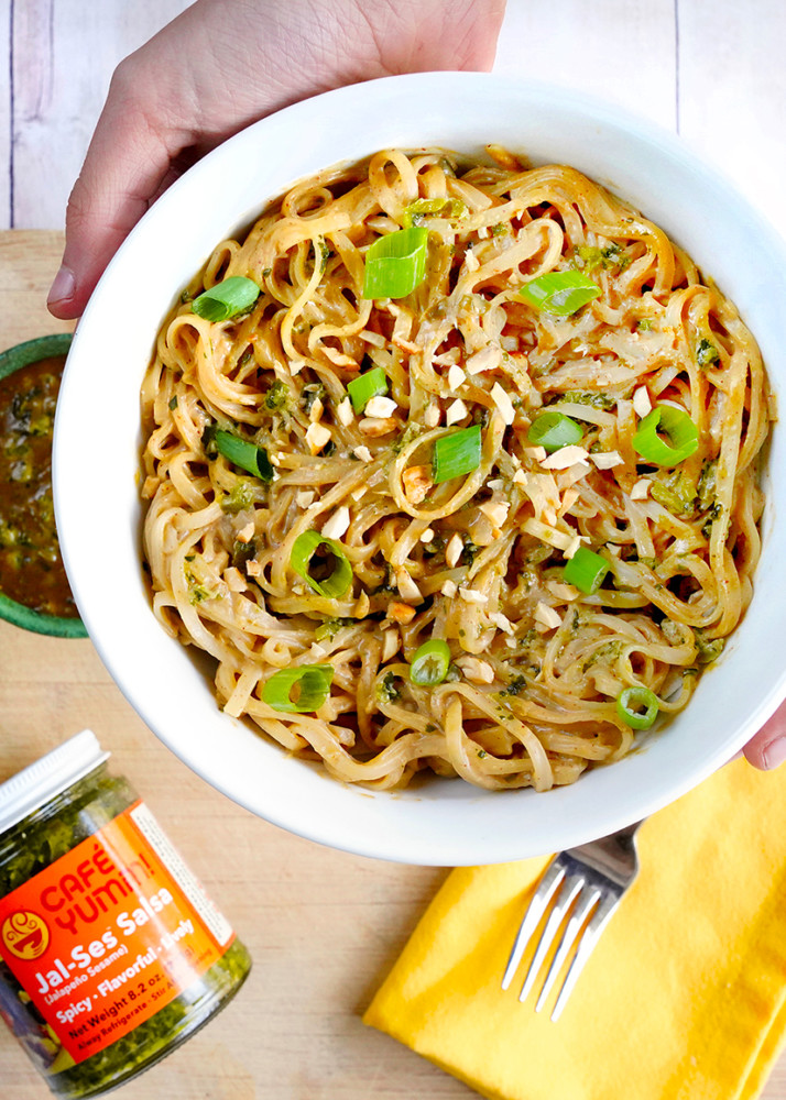 Yumm! Recipe: Spicy Peanut Noodles